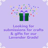 Volunteer for Lavender Graduation