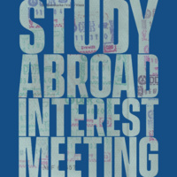 Winter 2022 London ENGL/THEA Study Abroad Interest Meeting