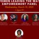 Women Leading the Way Empowerment Panel