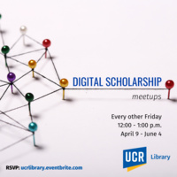 Digital Scholarship Meetups