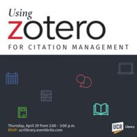 Using Zotero for Citation Management