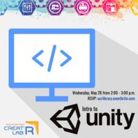 Creat'R Lab Workshop: Intro to Unity
