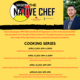 NASP Cooking Series with Native Chef Jason Champagne