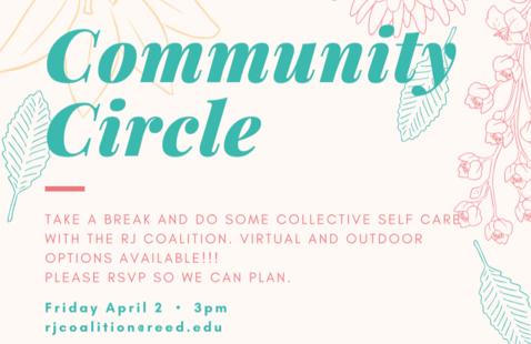 Restorative Justice Community Building Circle