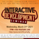Interactive Development Seminar