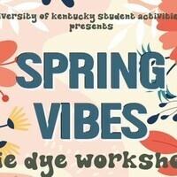 Spring Vibes Tie Dye Workshop