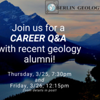 Geology career Q&A with recent alums