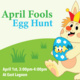 April fools egg hunt