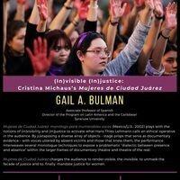 (In)visible (In)justice: Cristina Michaus's Mujeres de Ciudad Juárez