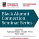 CPH Black Alumni Connection Series