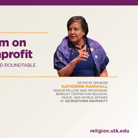 Public Symposium on Religion and Non-Profit Leadership