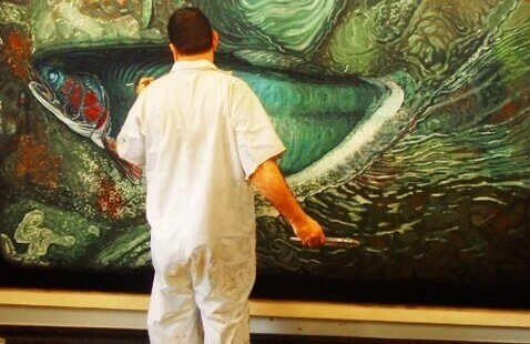 Artist Talk with Alberto Rey - Biological Regionalism: Oswego River and Lake Ontario