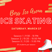 Skate Night at Boss Ice Arena