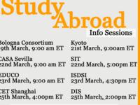 EDUCO: Fall 2021 Study Abroad Info Session