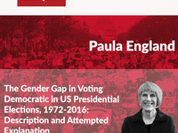 The Gender Gap in Voting Democratic in US Presidential Elections, 1972-2016: Description and Attempted Explanation