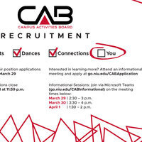 CAB Recruitment Flier