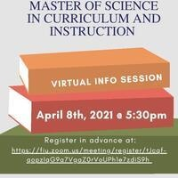Virtual Information Session: MS in Curriculum and Instruction