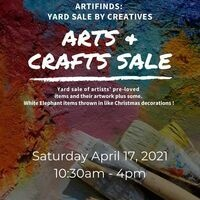 April 17 Yard Sale @crossroadsartcenter