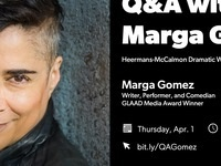 Q&A with Marga Gomez