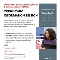 MSHA Virtual Information Session