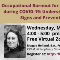 Occupational Burnout for School Staff during COVID-19: Understanding the Signs and Prevention