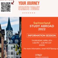 Switzerland Study Abroad Info Session
