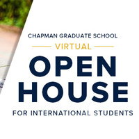 Virtual Open House for International Students