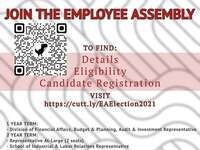 Employee Assembly Candidate Registration