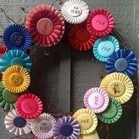 4-H Ribbon Wreath