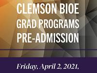 BIOE Grad Programs Pre-Admission
