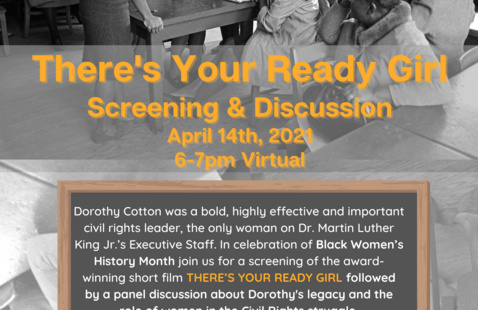 There's Your Ready Girl - Film Screening & Panel