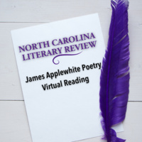 North Carolina Literary Review - James Applewhite Poetry Virtual Reading