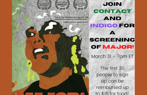 Contact & Indigo _Major Screening Event