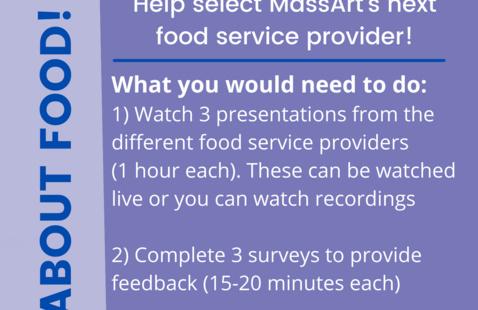 Food Service Vendor Evaluator Flyer