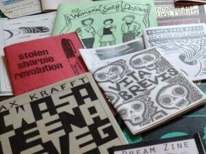 photo of several different zines