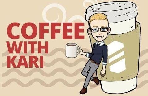 Coffee with Kari graphic