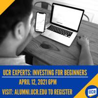 UCR Expert: Investing for Beginners