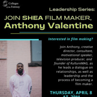 Join Shea Film Maker, Anthony Valentine