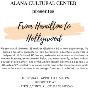 From Hamilton to Hollywood