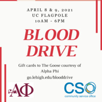 Blood Drive on April 8th and April 9th- urgent need | Community Service