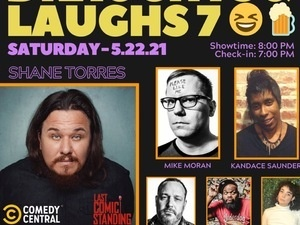 Comedian Shane Torres Live in Baltimore: Draughts and Laughs.