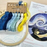 Embroidery Activity Kit