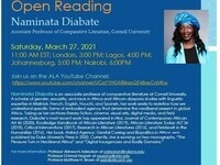 The ALA Lecture Series presents: On Naked Agency and Open Reading, Naminata Diabate