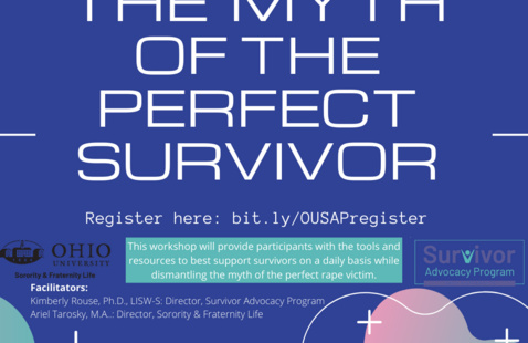 Myth of the Perfect Survivor Workshop Flyer