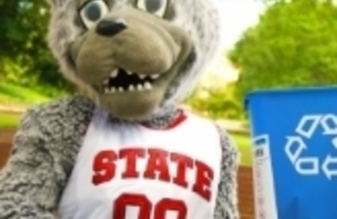 Mr. Wuf Recycles!
