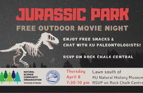 KU Jurassic Park Outdoor Movie Night