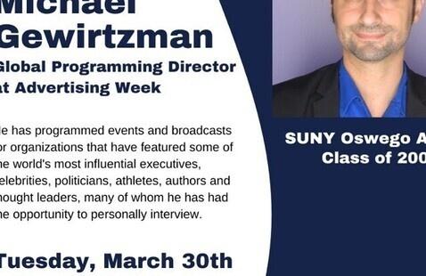 AMA Session with Michael Gewirtzman '05, Global Programming Director of Advertising Week