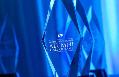 MDC Alumni Hall of Fame awards close-up