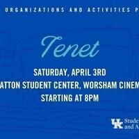 SOA's Cinema Series: Tenet