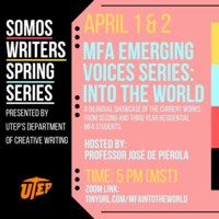 MFA Emerging Voices: Into the World